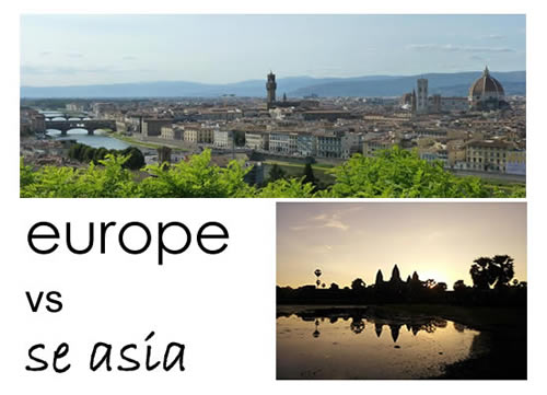 seasia vs europe