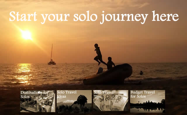 Solo Travel – Inspiration and Information