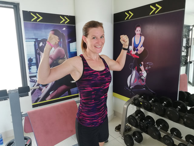 keeping fit for travel