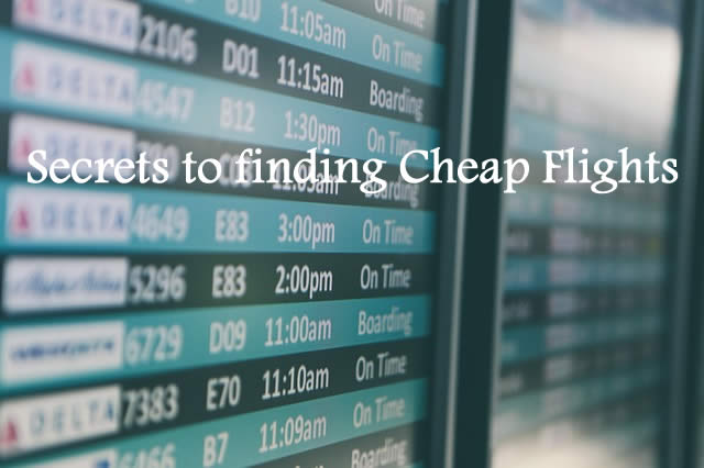 Ultimate Guide to Cheap Flights