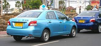 Taxi giá rẻ ở Bali