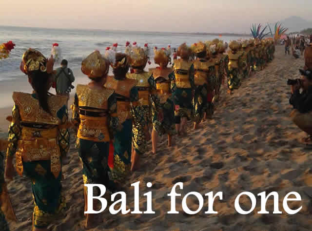 solo travel to Bali